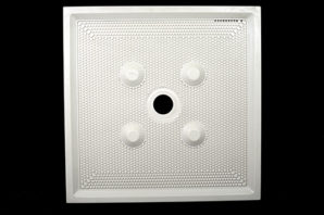 recessed filter plates